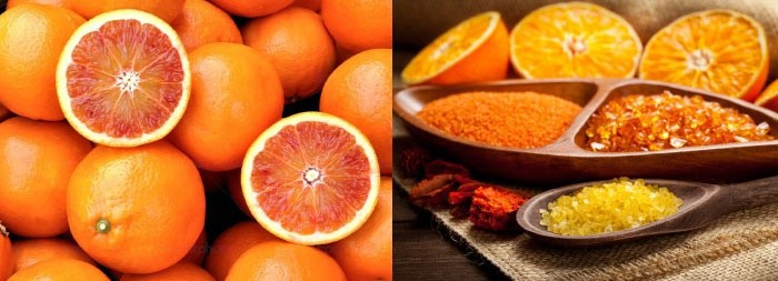 Апельсиновая цедра для очищения кожи