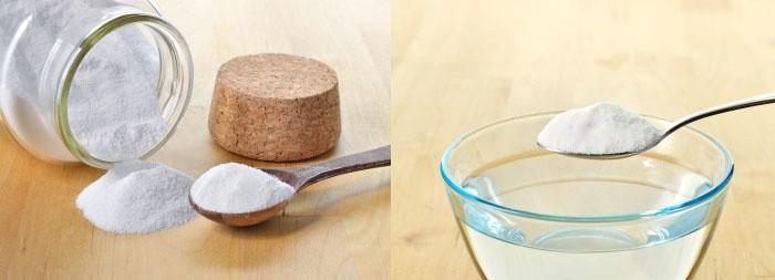 Пищевая сода в борьбе против черных точек